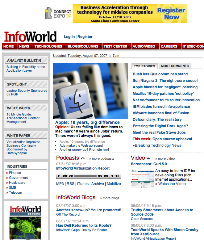 InfoWorld cover