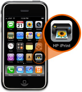 1. Click on the HP iPrint icon