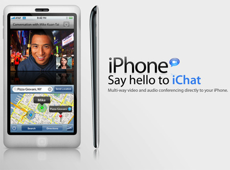 iPhone with iChat Concept