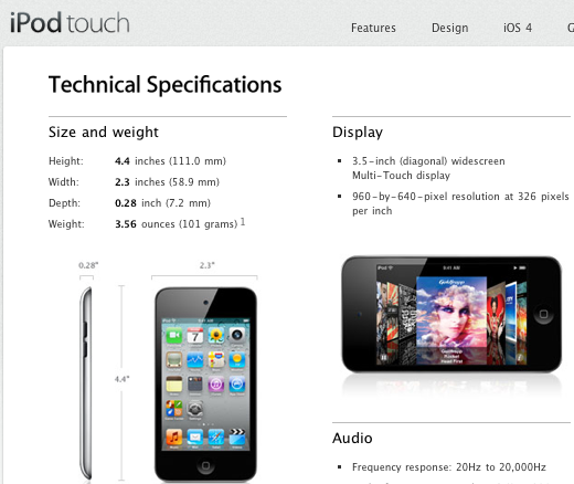 does the ipod touch have the same screen as the iphone 4 9to5mac rh 9to5mac com iPod Manuals User Guide iPod Touch 5th Generation User S Manual