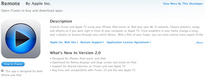 Apple updates Remote app for new AppleTV - 9to5Mac