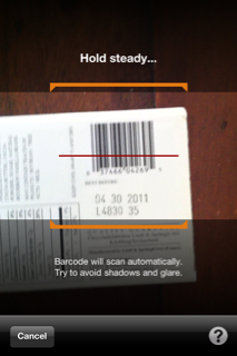 amazon app iphone barcode