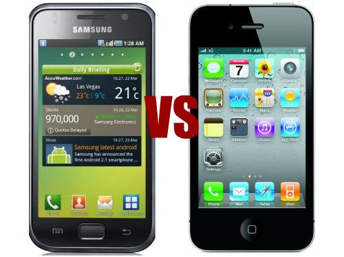 samsung vs iphone sales worldwide