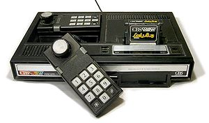 Photo of the ColecoVision video game console.