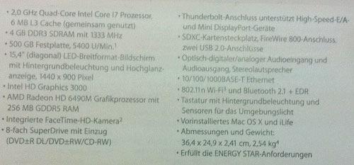 Sdxc Kartensteckplatz.Here Are Your New Macbook Pros Quad Cores 9to5mac