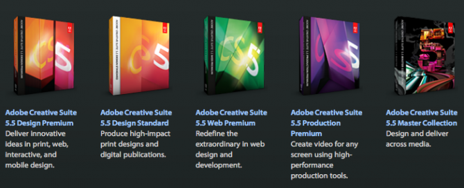 Adobe Creative Suite 5.5 Design Standard Student And Teacher Edition Price