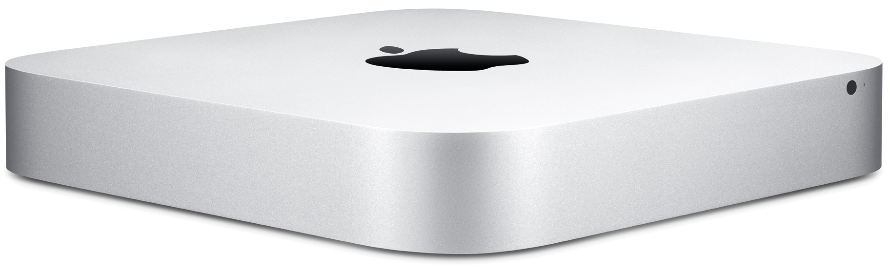 Mac mini Server mid-2011 (front, left-angled)