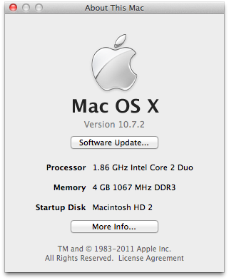 Xcode for os x 10.7.2