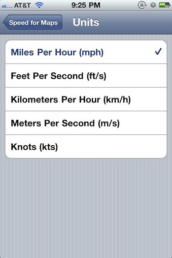 Cydia Tweak Adds Speedometer To Stock IOS Maps App