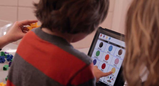 iPad Year One advert (school kids)