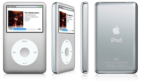 iPod classic (four-up)