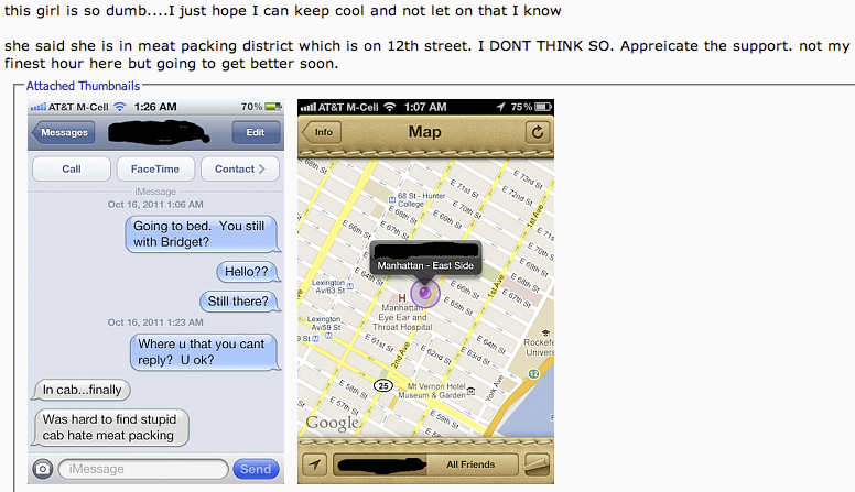 Find My Friends catches wife cheating, brings privacy issues to