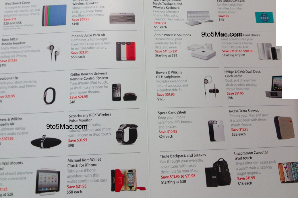 Apple S Black Friday 2011 Deals Revealed Discounts On Ipad Ipod Imac Macbook Air Macbook Pro And Accessories 9to5mac