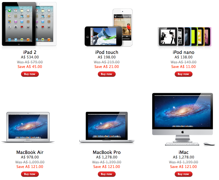 Apple Store Black Friday Deals Go Live In Australia New Zealand 9to5mac