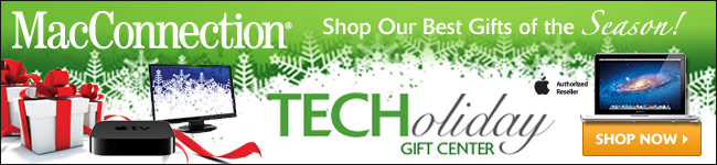 MacConnection TECHoliday Gift Center