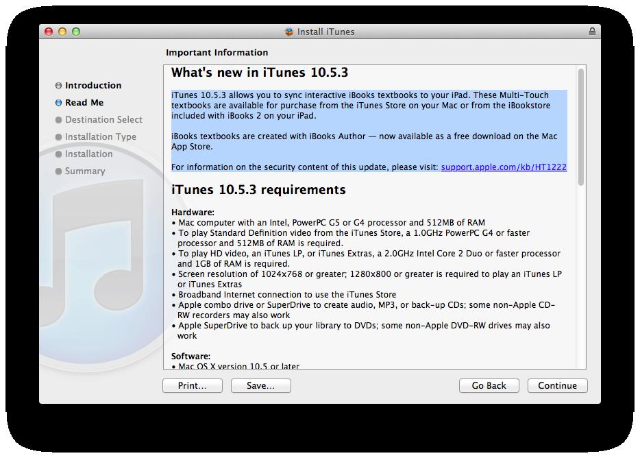 Apple releases itunes 10. 5. 3 – macstories.