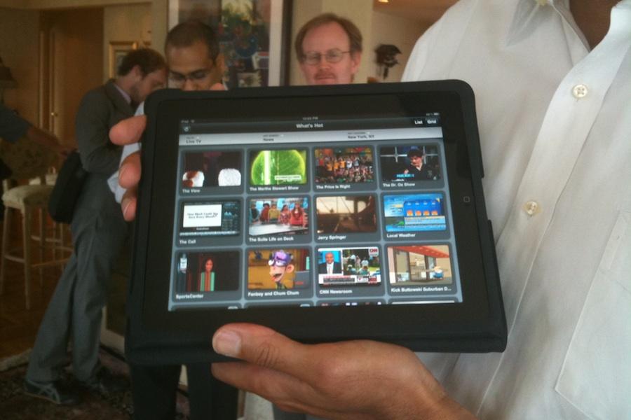 tv in streaming ipad