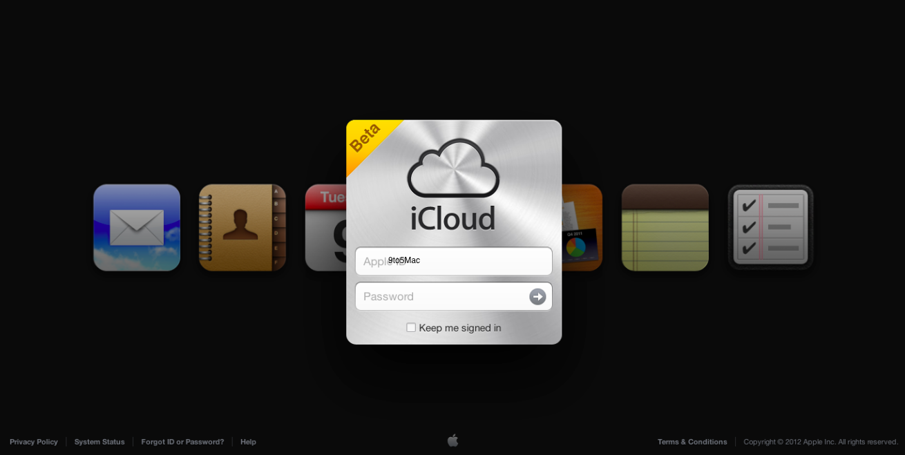 iCloud beta website reveals plans for Notes and Reminders web apps