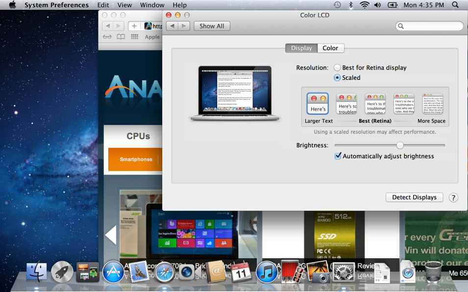 how to screenshot on a macbook pro retina