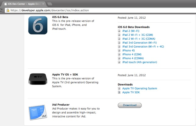 wwdc 2012 roundup ios 6 new macs icloud updates and os x