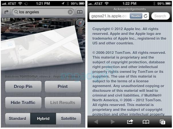 TomTom iOS 6