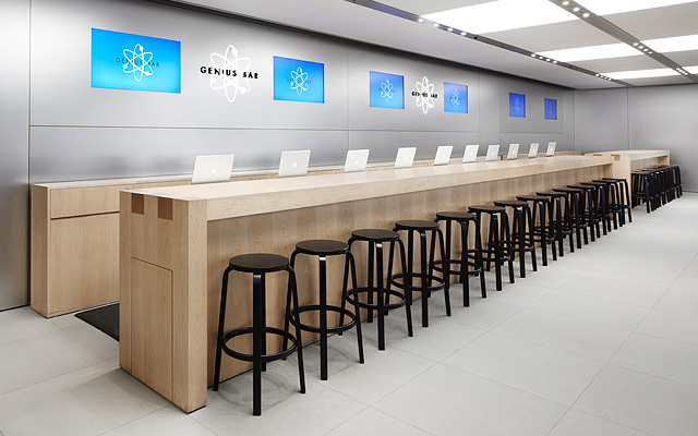 Apple Testing Increased Genius Bar Table Size For Some Stores ...