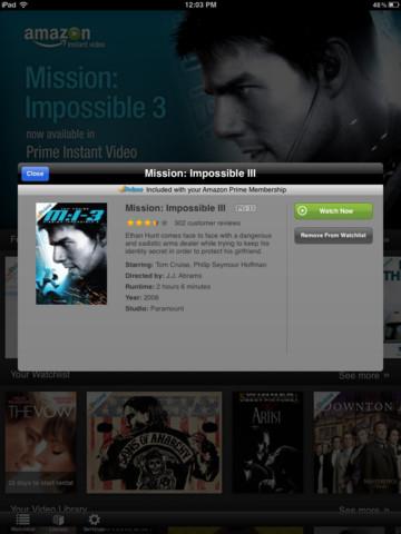 Amazon prime instant video download