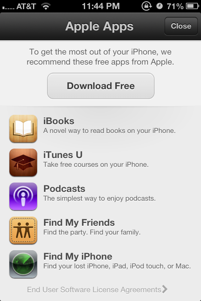 iOS 6 App Store tweaked to promote a one-tap installation of