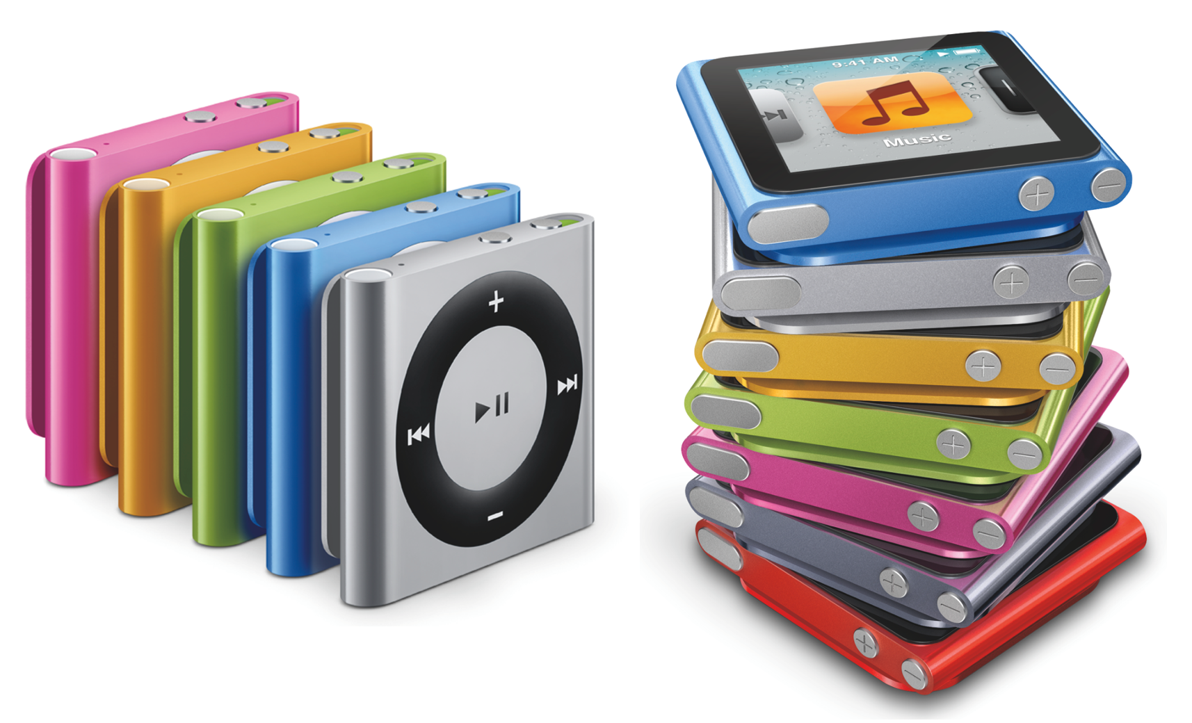 Apple S New Ipods Various New Ipod Touches New Ipod Nano Tweaked Ipod Shuffle 9to5mac