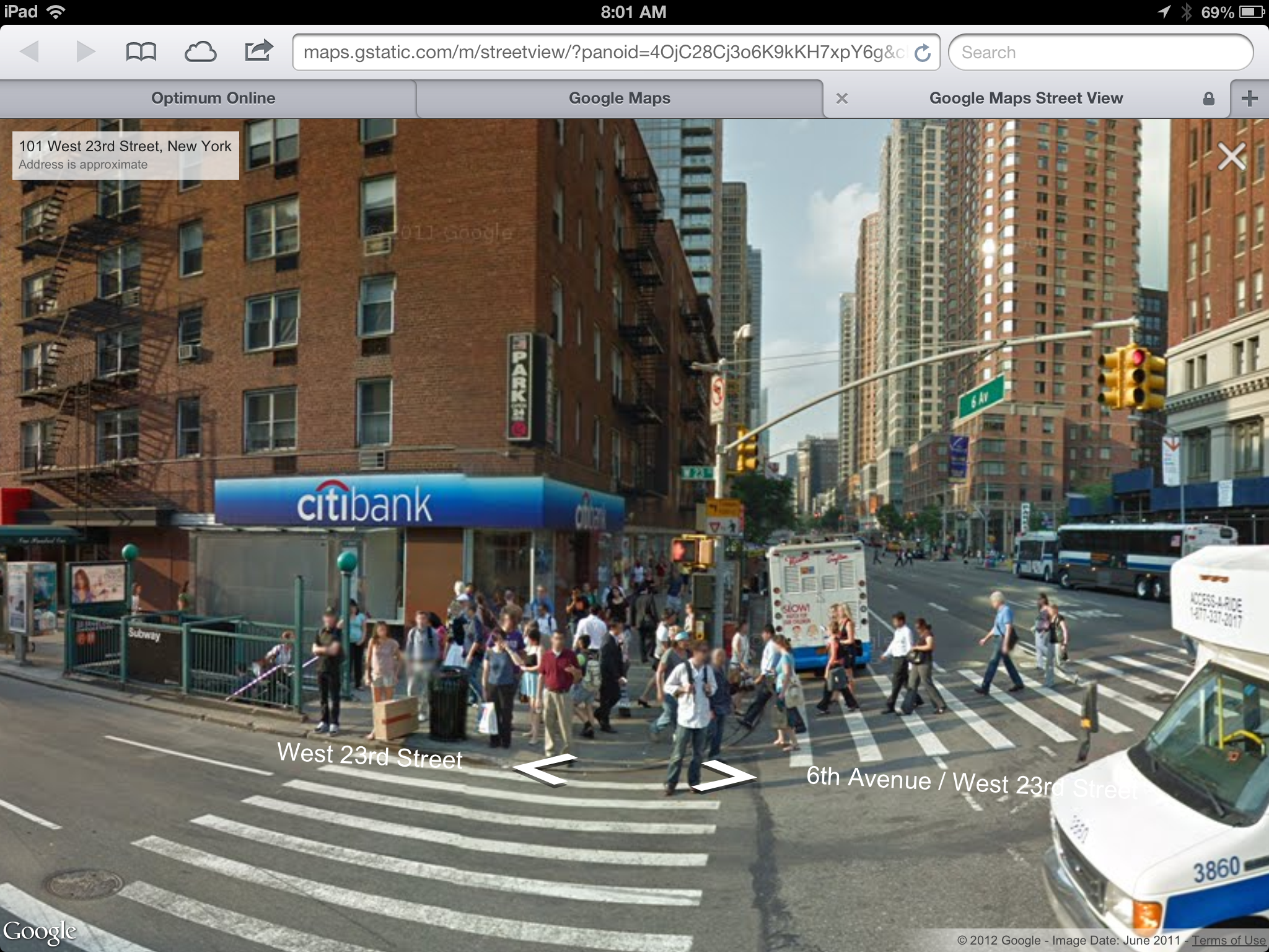 Google Maps web Street View goes live on iOS devices - 9to5Mac on