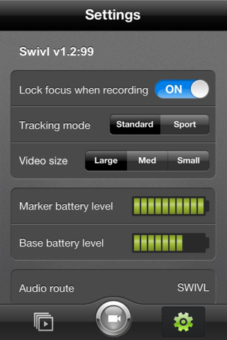 Swivl App Screenie 1