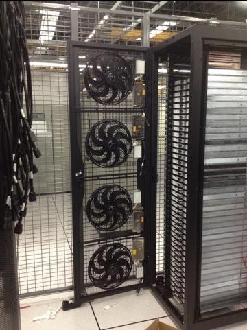 160 Mac Minis Crammed Into Custom 2 X 2 Datacenter Rack