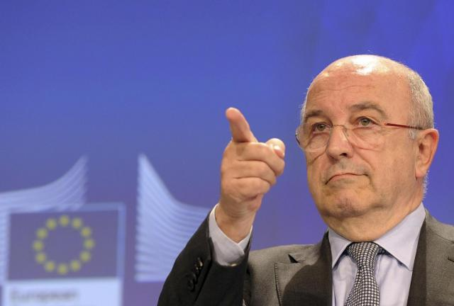 EU Commission Chief Joaquin Almunia