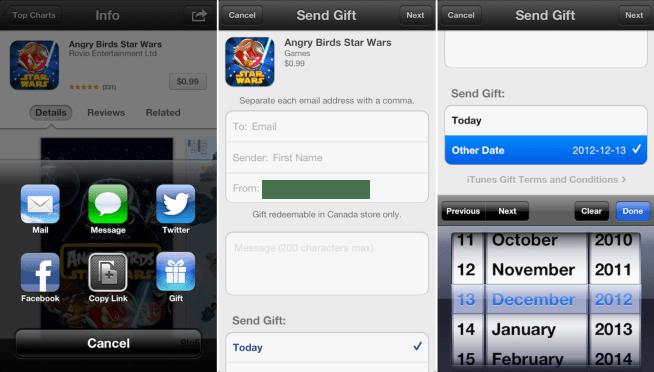 App Gifting-iOS 6