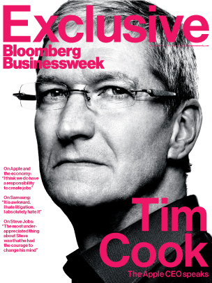 Bloomberg Tim Cook cover