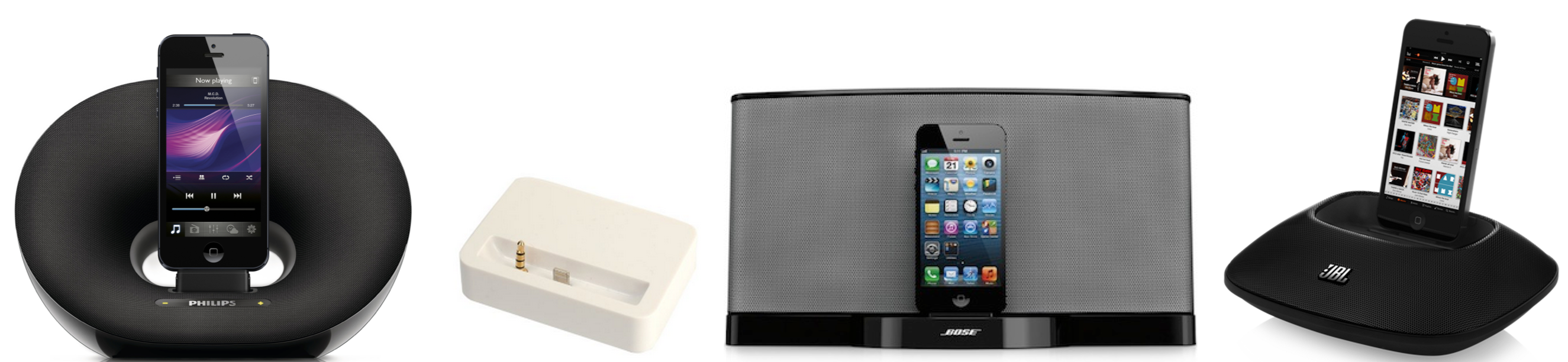 iPhone 5 Gift Guide Docks