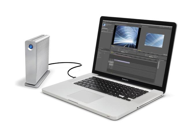 Lacie d2 USB 3 Thunderbolt series