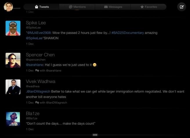 iPad timeline