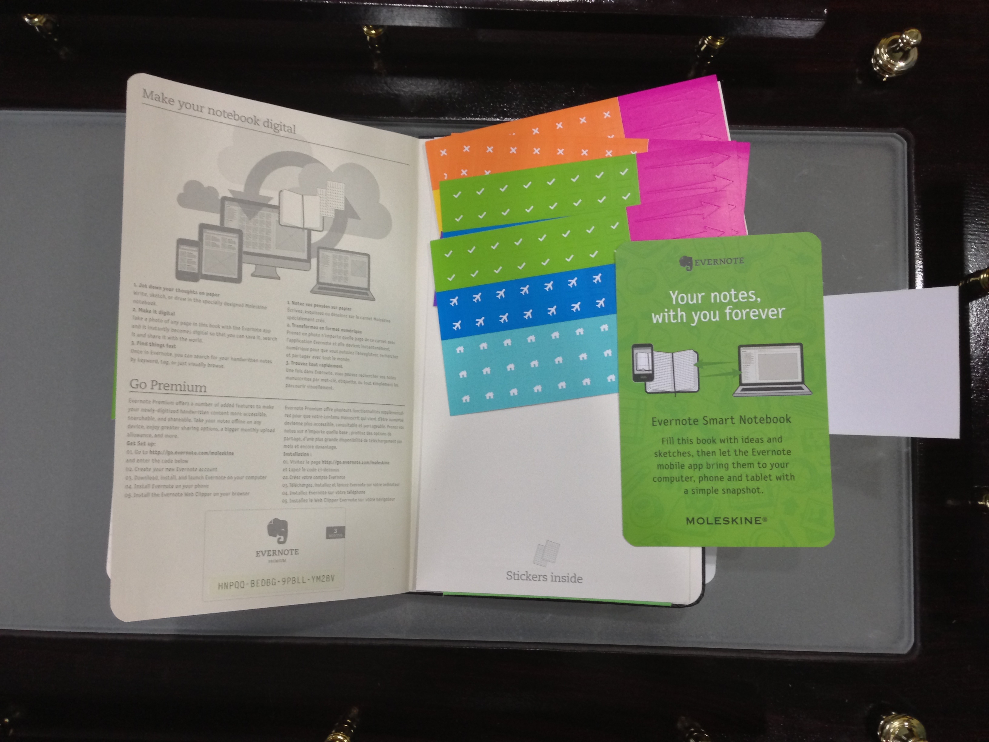 Review Moleskine S 30 Evernote Large Ruled Smart Notebook For Ios And Giveaway 9to5mac
