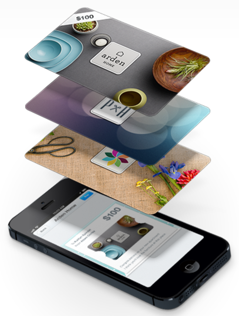 Square Passbook gift cards