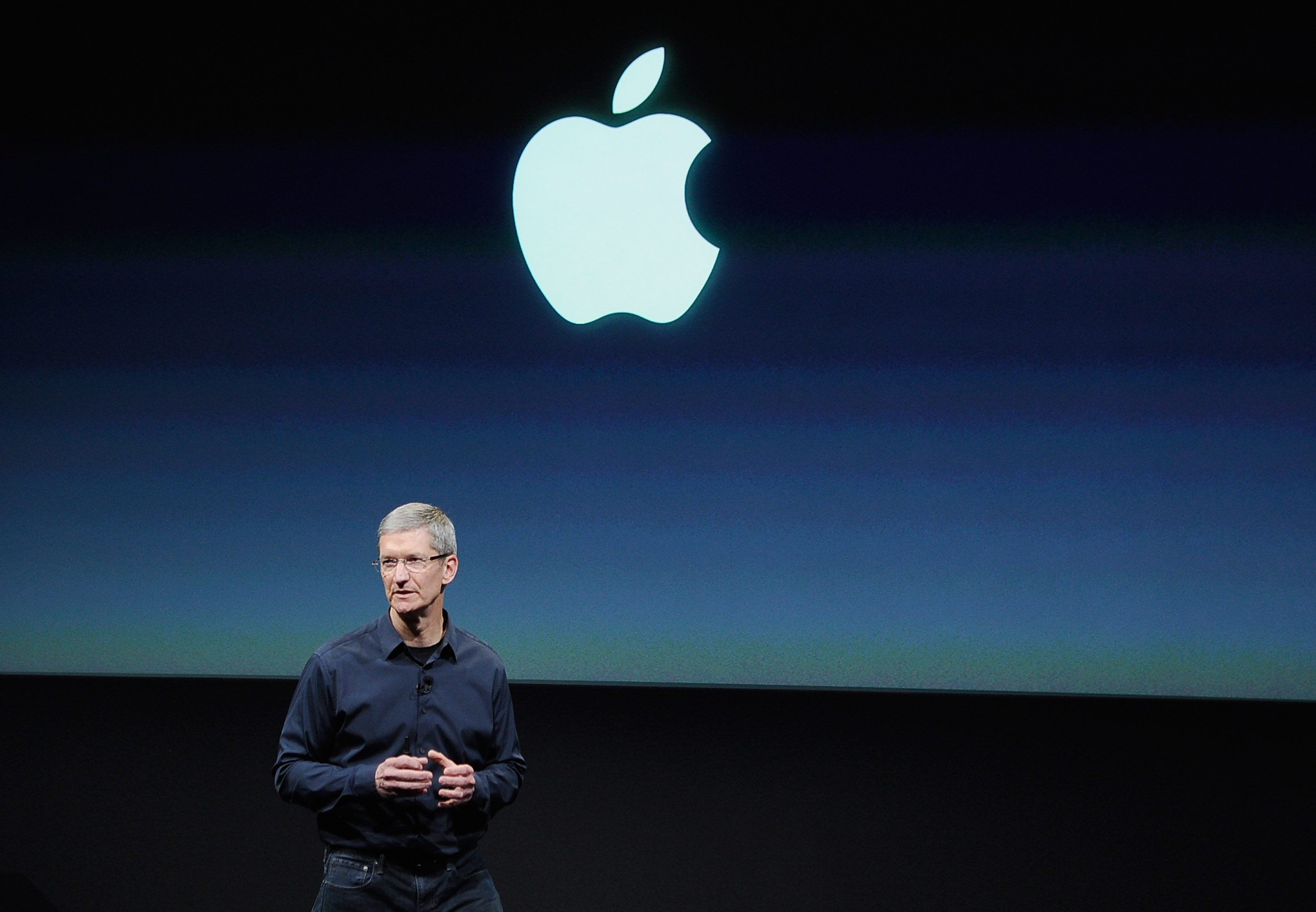 New Apple CEO Tim Cook Introduces New iPhone