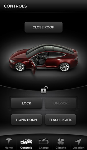 Tesla-Model-S-iPhone-App