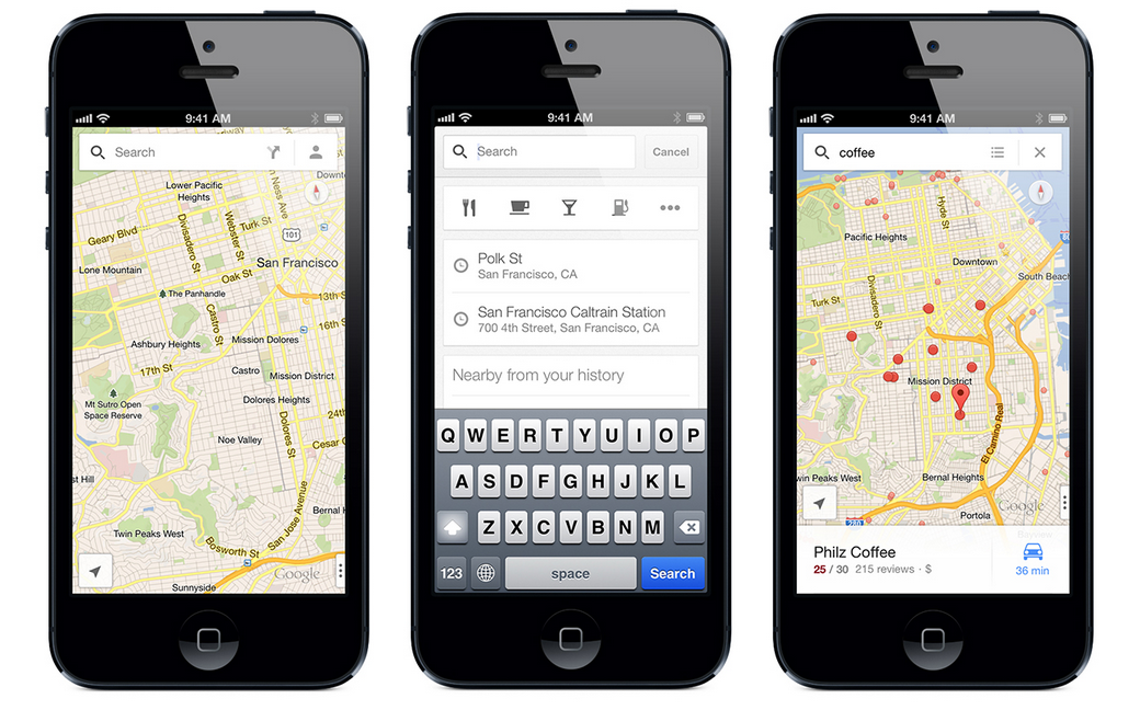 Google-Maps-Contacts-iOS