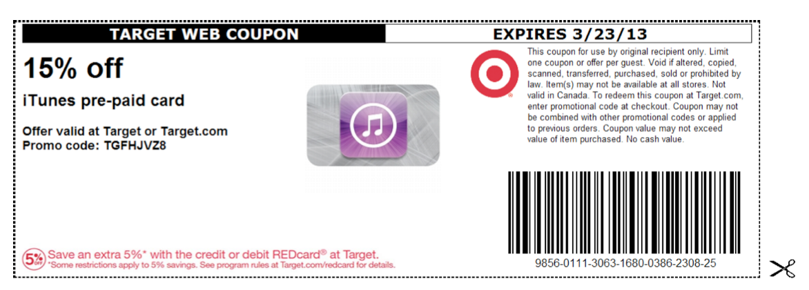 More About Apple iTunes Coupons