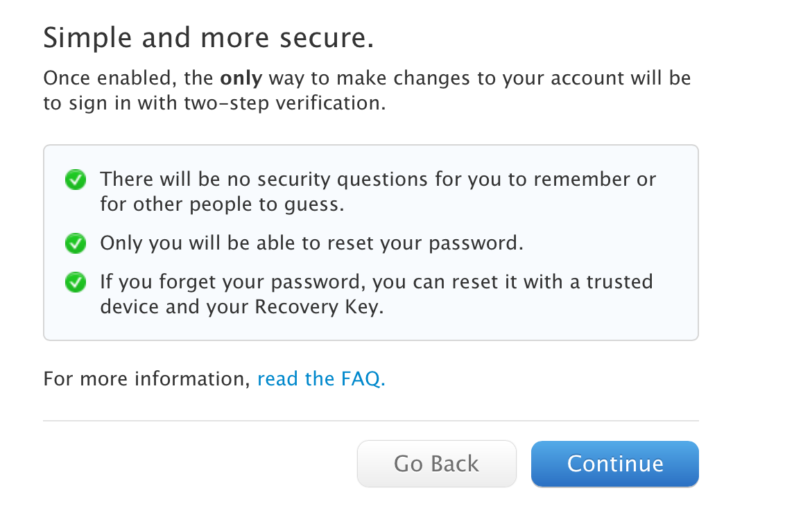 Apple beefs up iCloud, Apple ID security with two-step