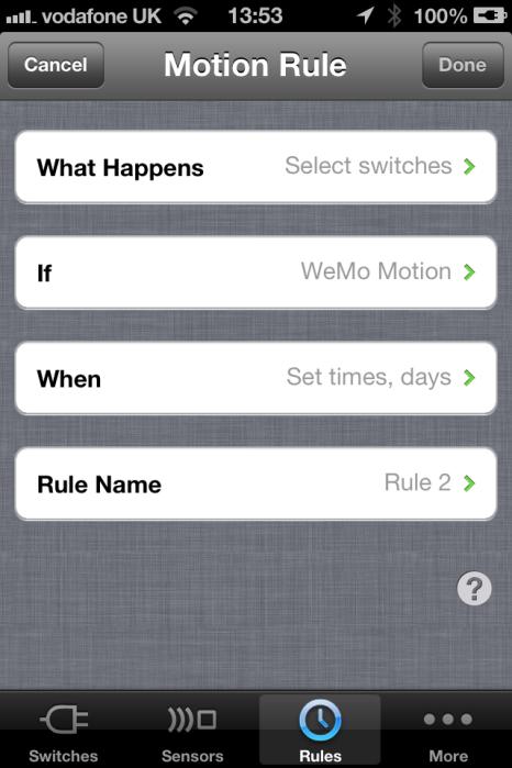 wemo-rule