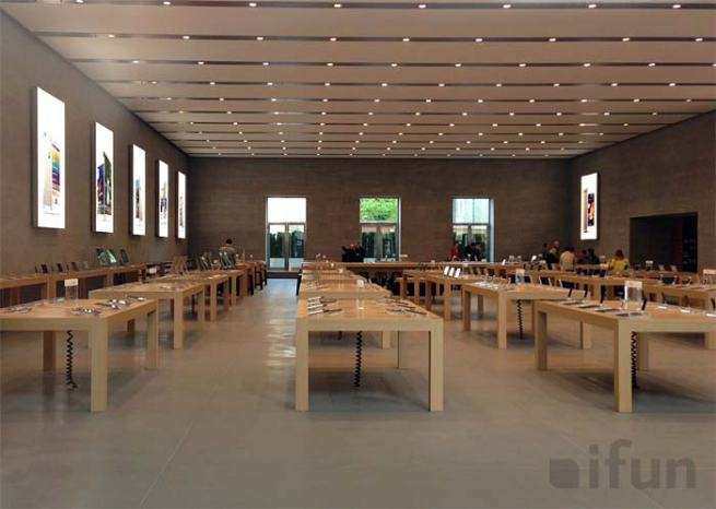 Inside Berlin's new Apple Store via ifun.de