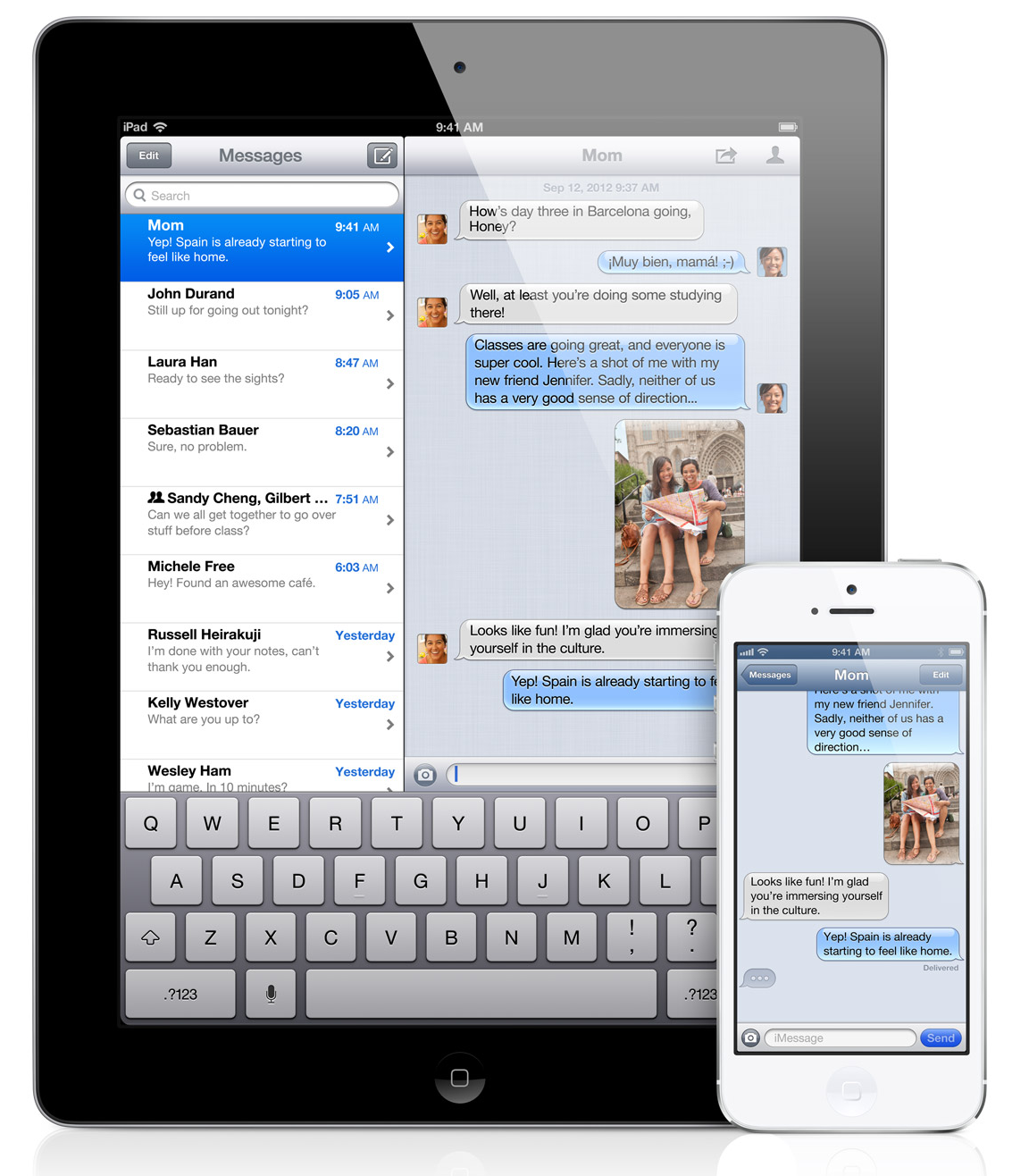 iMessage-iPad-iPhone
