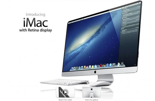 Retina iMac mockup via MacSpoilers