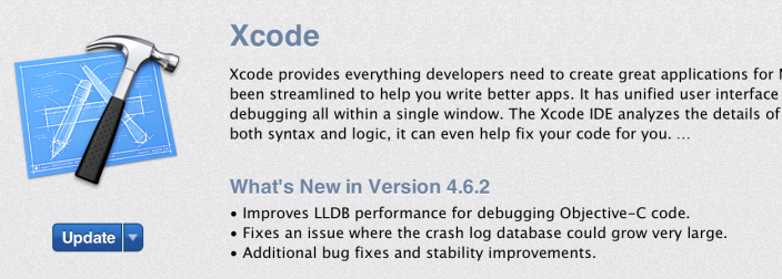 Apple releases minor Xcode update with fixes/improvements